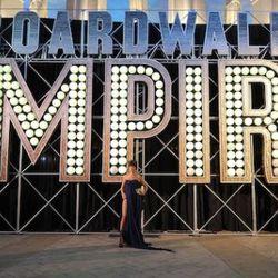 "ATLANTIC CITY, NJ - SEPTEMBER 16:  Paz de la Huerta attends HBO & Caesars Revisit the 1920s to Celebrate ""Boardwalk Empire"" in AC at Caesars Atlantic City on September 16, 2010 in Atlantic City, New Jersey.  (Photo by Michael Loccisano/Getty"