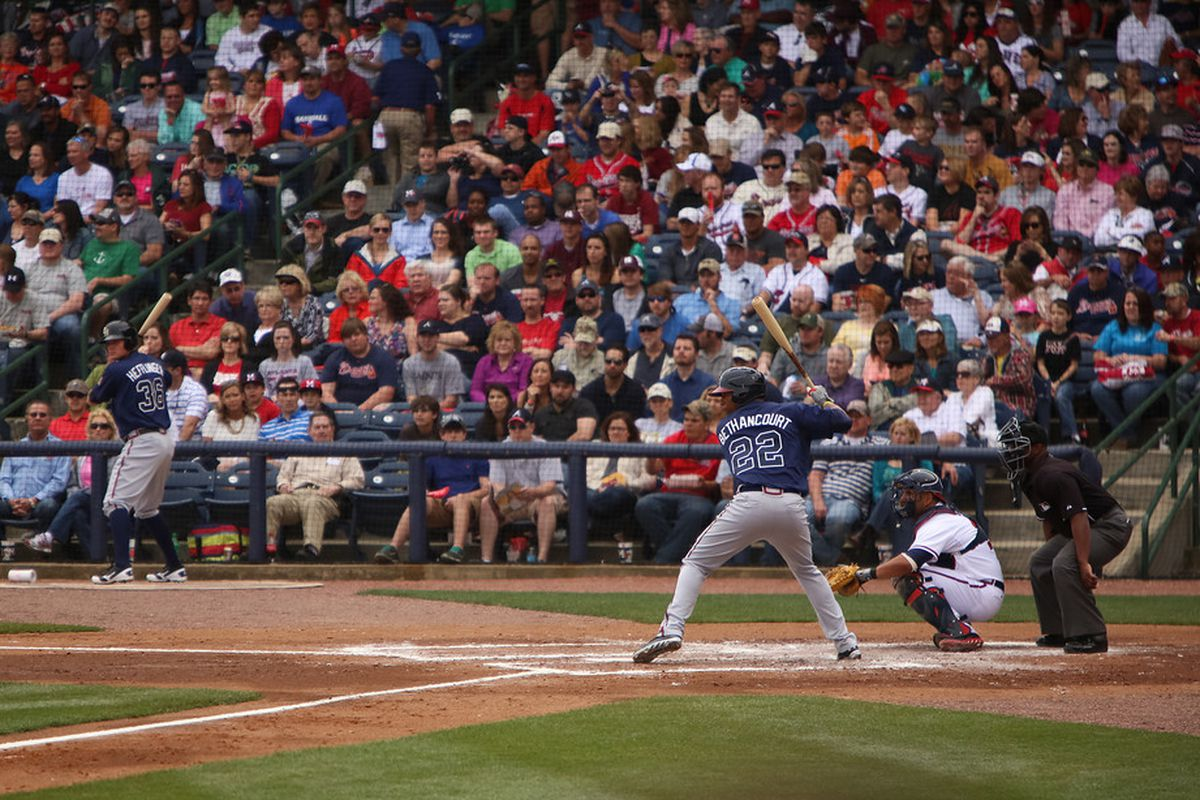 Christian Bethancourt went yard to win the game for Gwinnett last night.