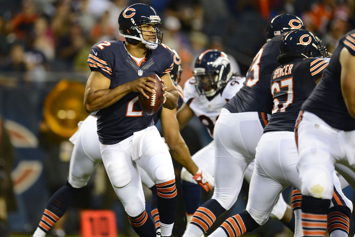 Jason Campbell may be regretting his decision to play behind this offensive line.