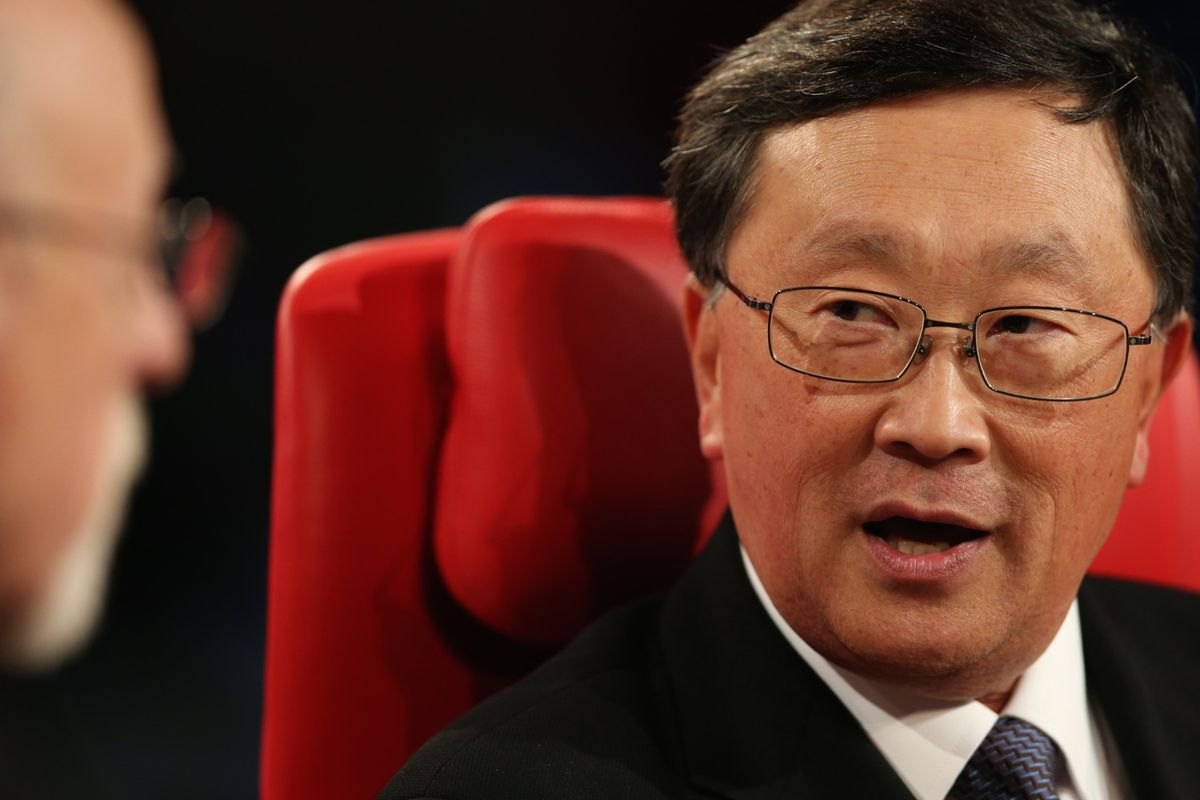 John Chen Acknowledges BlackBerry Can't Compete Broadly for Developers