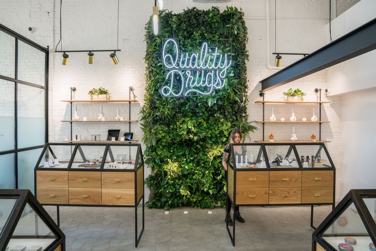 Marijuana Dispensary Goes Minimalist In Portland Curbed
