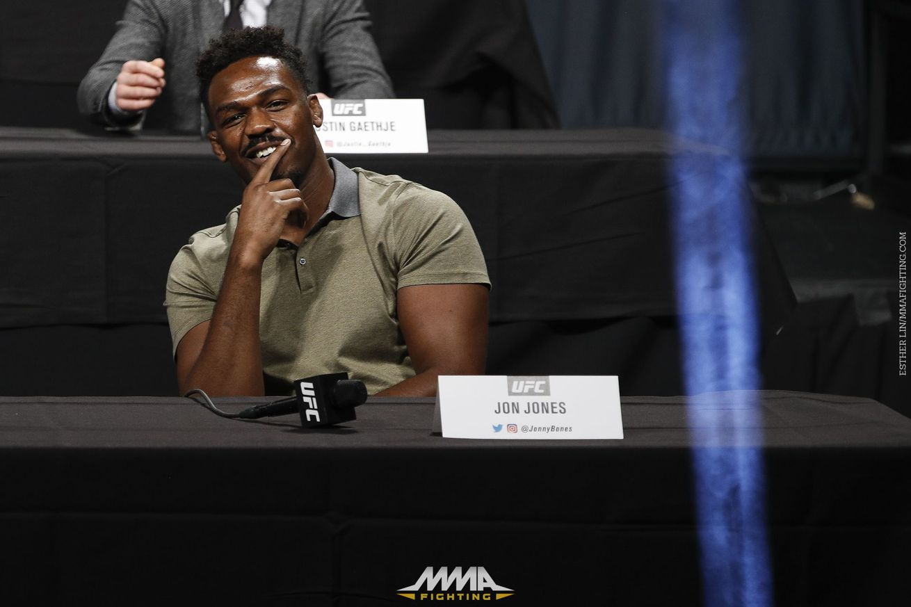 Jon Jones responds to Alexander Gustafsson, says 'lack of heart' is why he's never been UFC champ