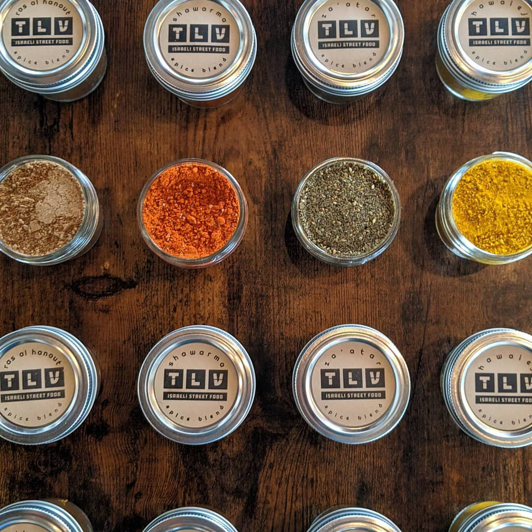 Fareground restaurant TLV created spice kits for customers