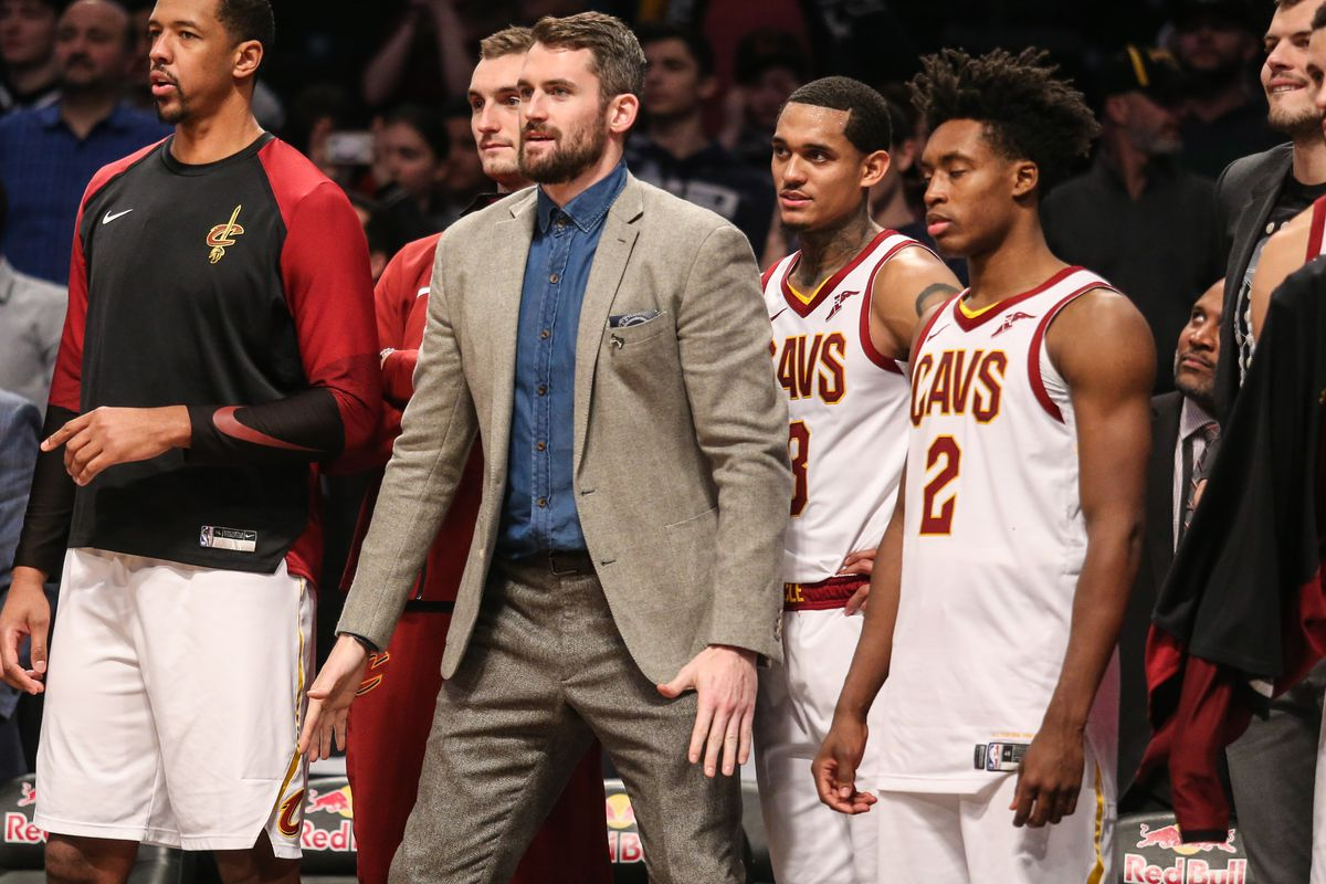 purchase cheap 77ef7 7c6a6 Kevin Love returns to practice, but what comes next for the ...