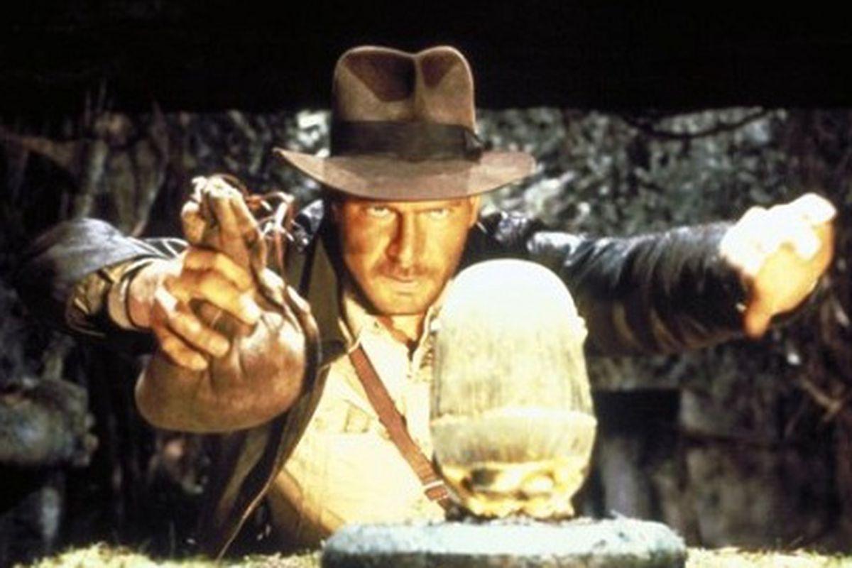The Indiana Jones of not-perfume, via IMDB