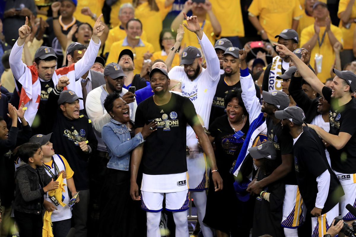005b7cad52be Kevin Durant s emotions after winning the NBA Finals showed why he made his  choice