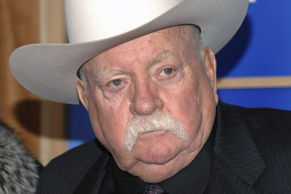 Actor Wilford Brimley attends the premiere of 'Did You Hear About The Morgans' at the Ziegfeld Theater in New York, in 2009.