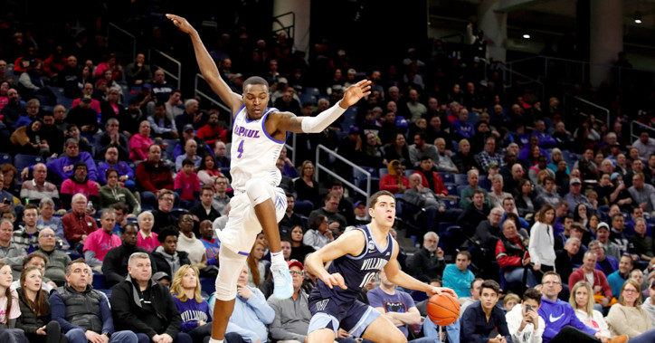 DePaul pummeled at home by No. 12 Villanova