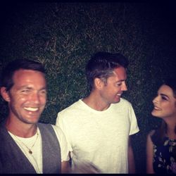 """""""David, Marcus and with their host Bee"""" via <a href=""""http://instagram.com/p/RRUON0hlHr"""">Rag & Bone</a>"""