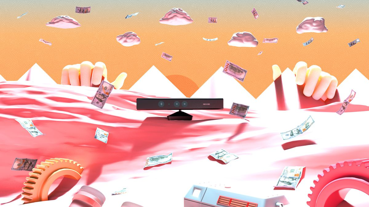 Kinect sits in a wasteland of spent money