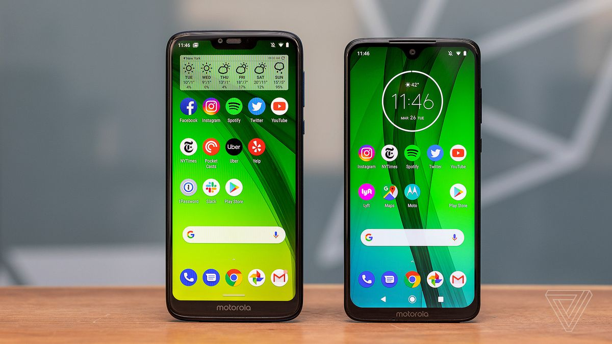 Motorola Moto G7 and G7 Power review: still the budget
