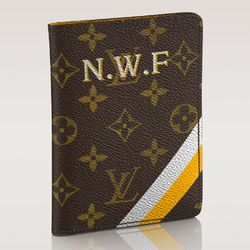 """For a destination wedding—or a well-traveled bridesmaid pack—gift a <b>Louis Vuitton</b> Passport Cover, <a href=""""http://www.louisvuitton.com/front/#/eng_US/Collections/Women/Mon-Monogram/products/Passport-Cover-Mon-Monogram-MONOGRAM-P00039"""">$465</a> and"""