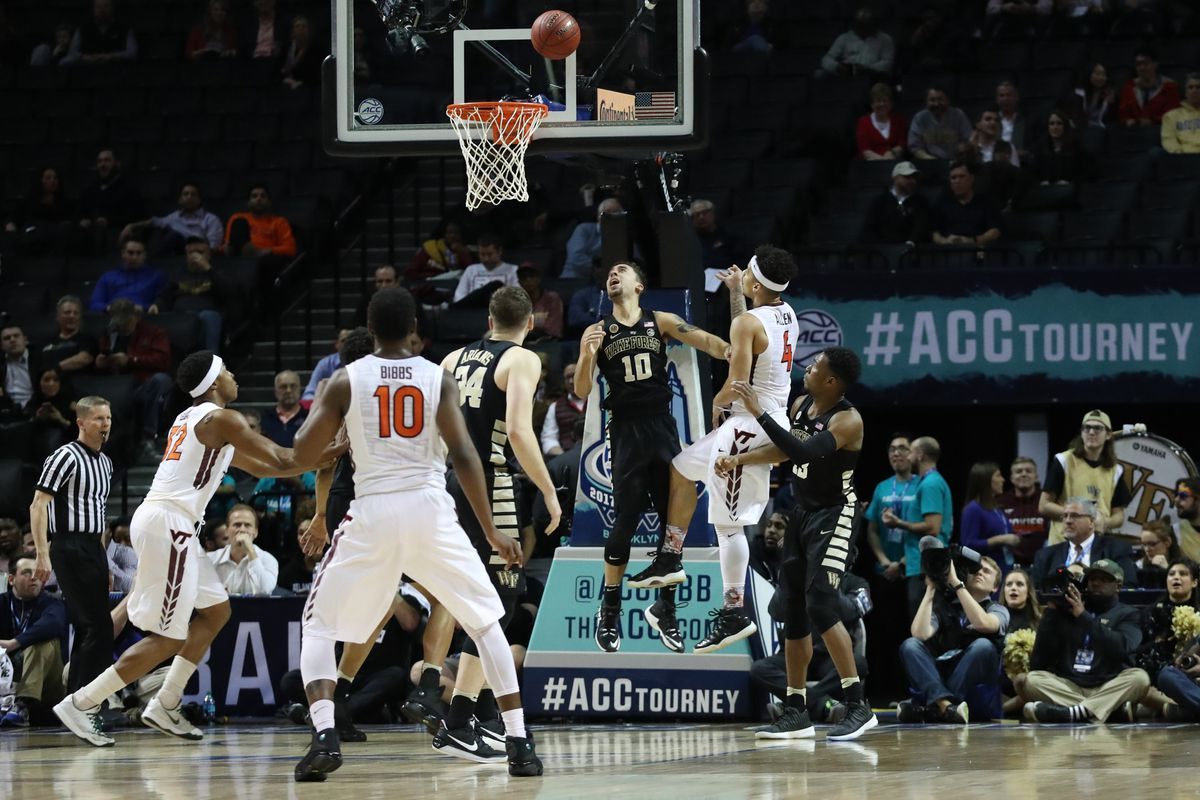 NCAA Basketball: ACC Conference Tournament-Virginia Tech vs Wake Forest