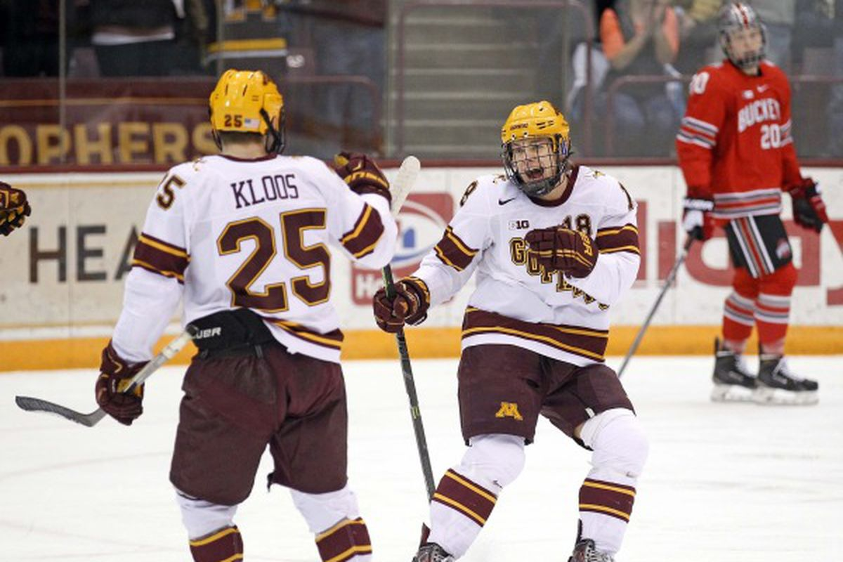 The Gophers hope to see this plenty on Friday night