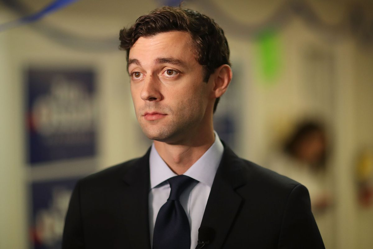 Democratic Congressional Candidate In Georgia's Special Election Jon Ossoff Campaigns In Georgia