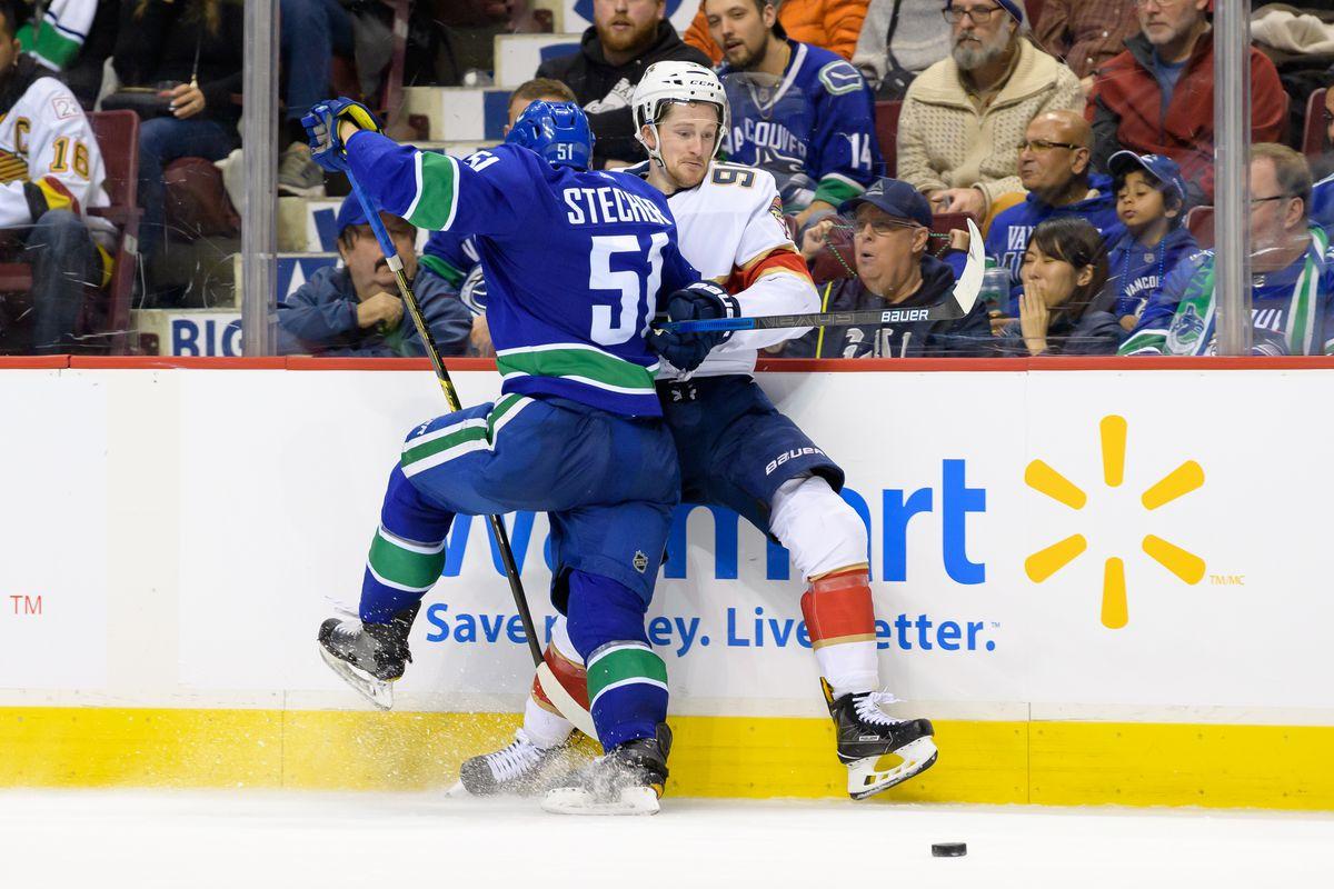 NHL: JAN 13 Panthers at Canucks
