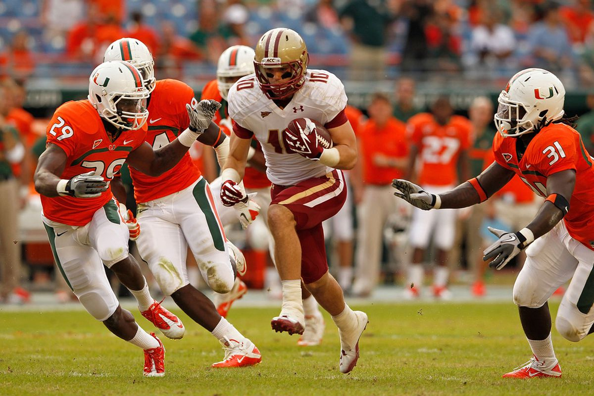 Could Boston College end up hosting the Miami Hurricanes on opening weekend?