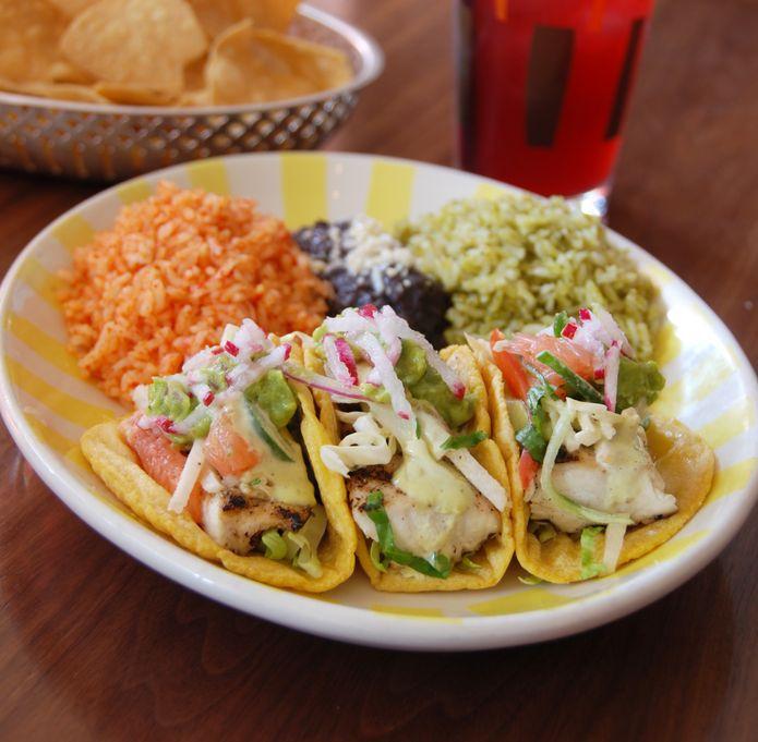 Fish tacos at Border Grill