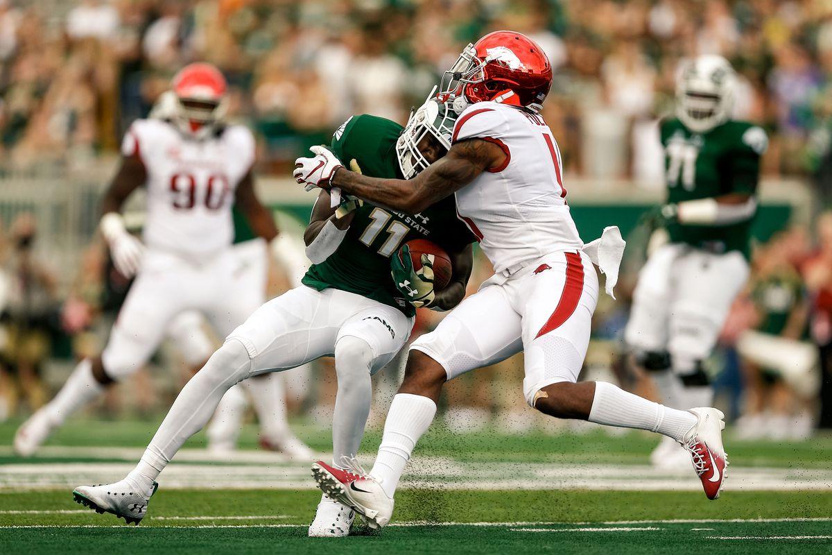 NCAA Football: Arkansas at Colorado State
