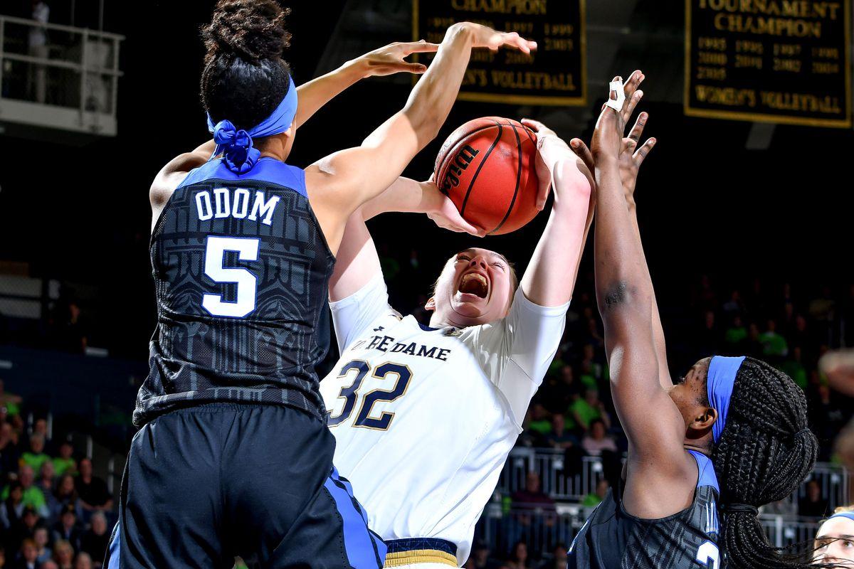 NCAA Womens Basketball: Duke at Notre Dame