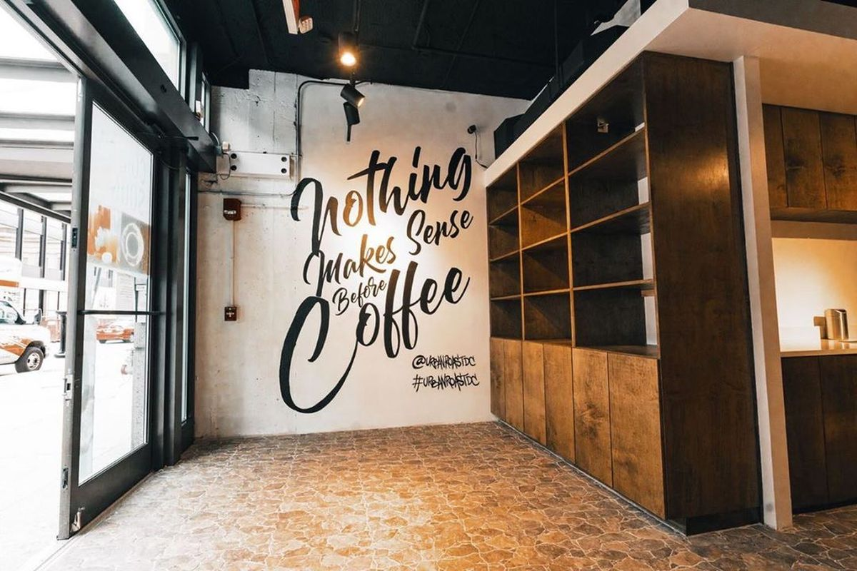 Retail shelves will be stocked with wine and coffee beans.