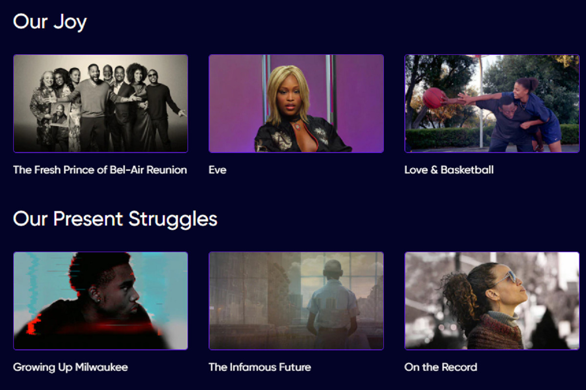 HBO Max lists movies that viewers can watch featuring Black voices.