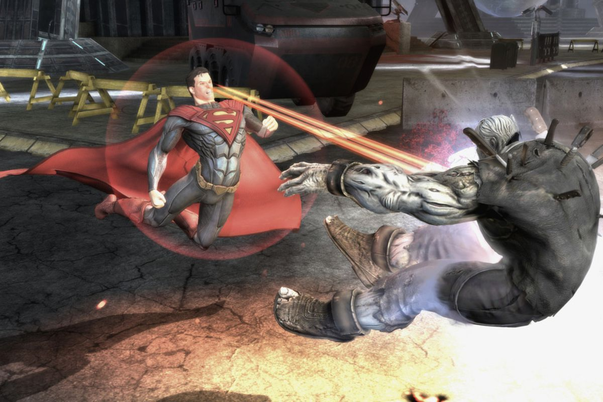 Injustice Gods Among Us Or Batman Fights Superman Polygon - Injustice god among us buttom map