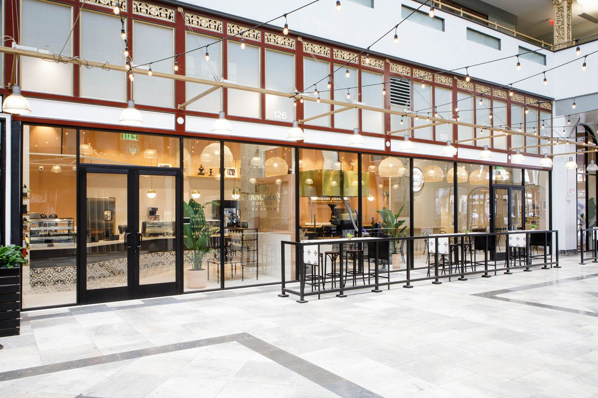 b73eeca708fa The shop, called Don Francisco s Coffee Casa Cubana, took 11 months to  design and build out, and it will open to the public on August 4, not  August 1, ...