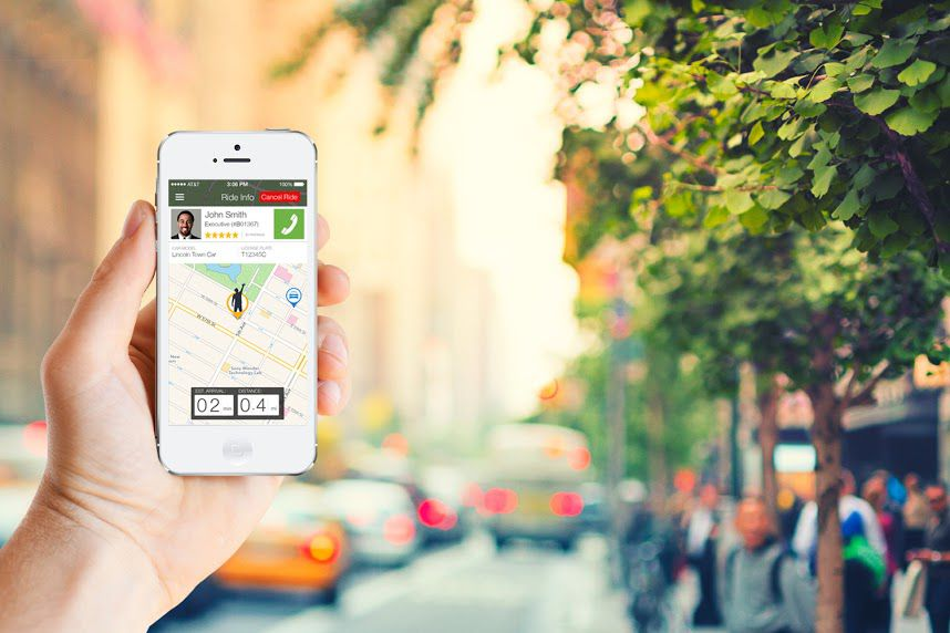 Gett app in New York City