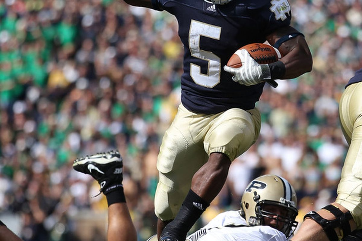 As always, Notre Dame is a target of the ACC (Photo by Jonathan Daniel/Getty Images)