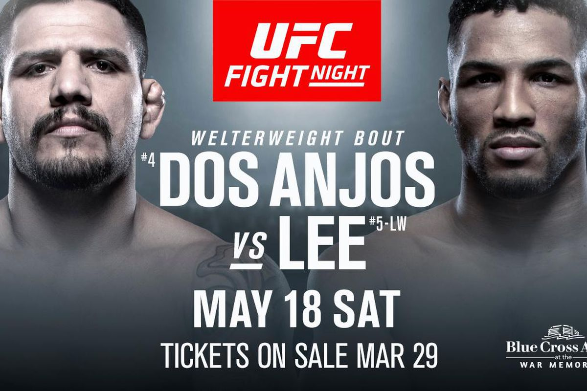 Watch UFC Fight Night 152 Dos Anjos Vs Lee 5/18/19