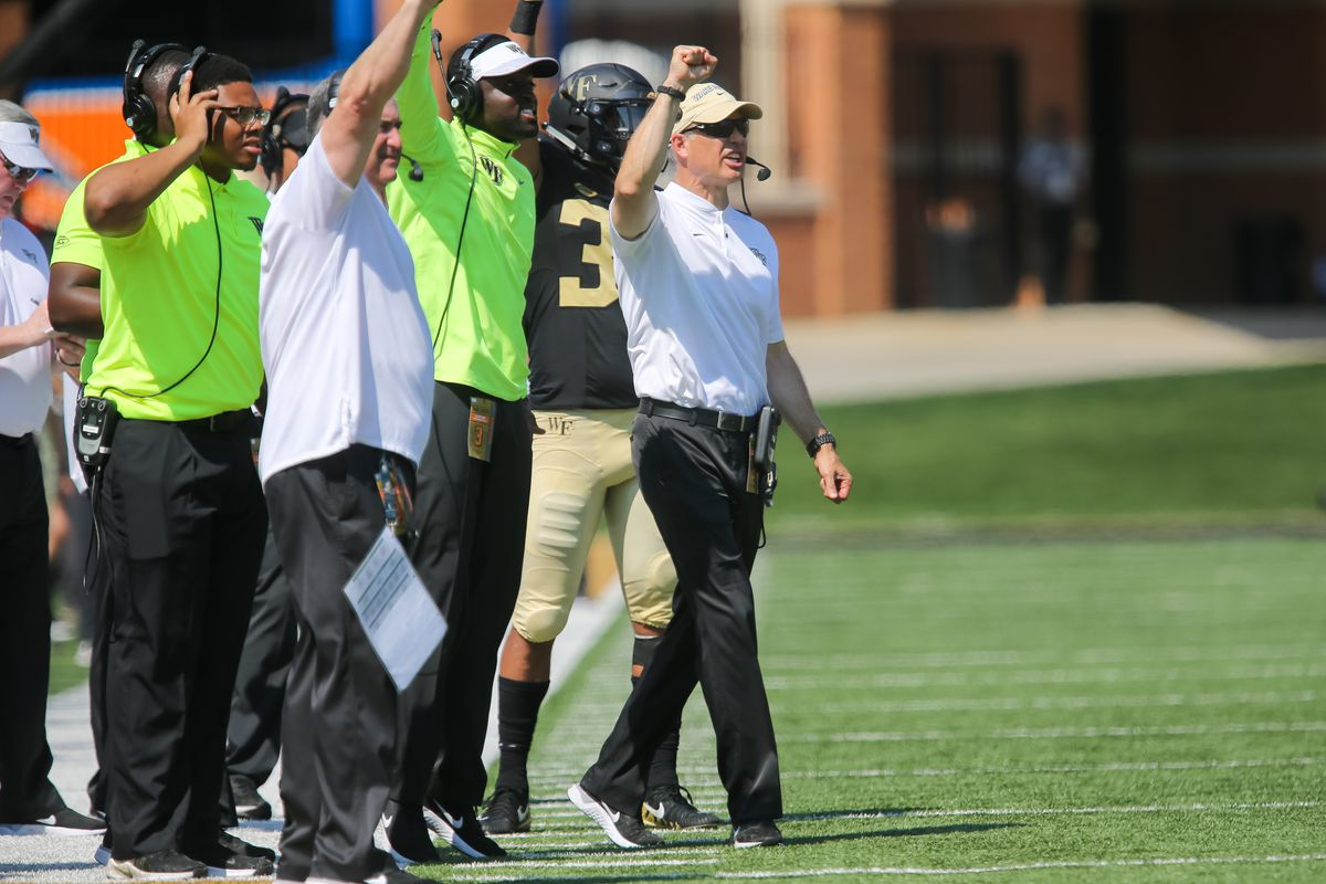 COLLEGE FOOTBALL: SEP 22 Notre Dame at Wake Forest