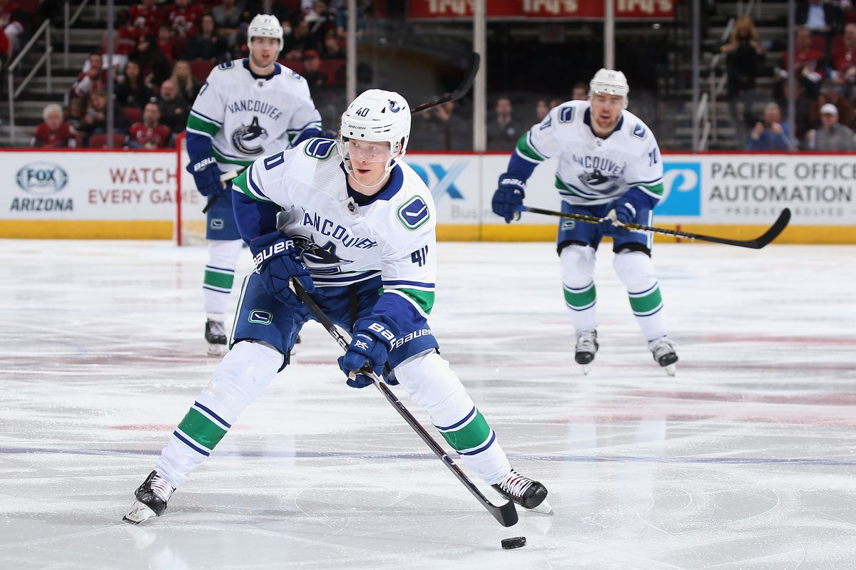 7 numbers behind Elias Pettersson's rookie success