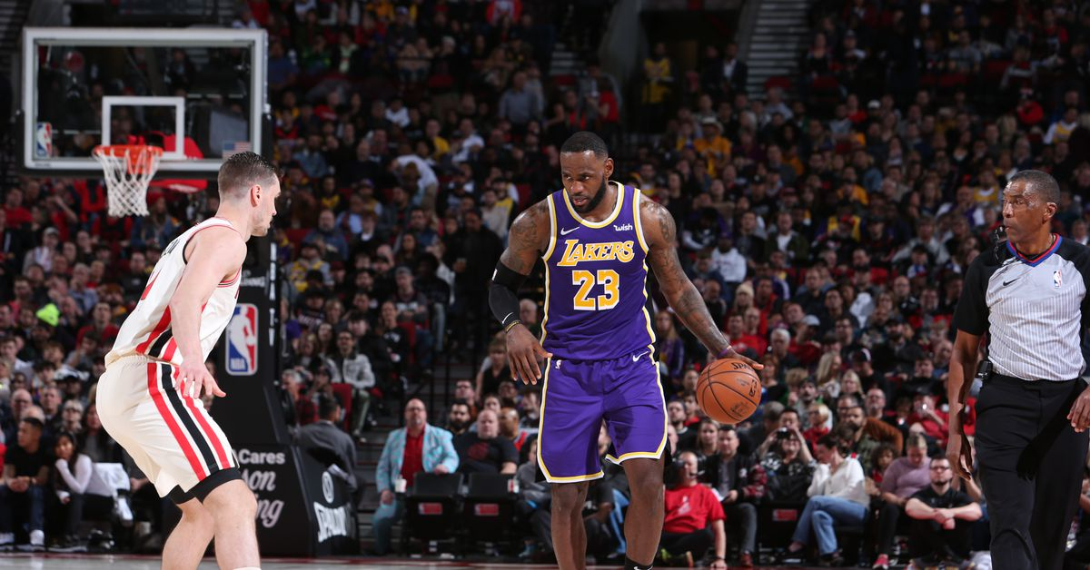 Lakers vs. Trail Blazers Final Score: L.A. finishes road trip 3-0 - Silver Screen and Roll