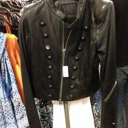 L.G.B Leather Jacket, $430