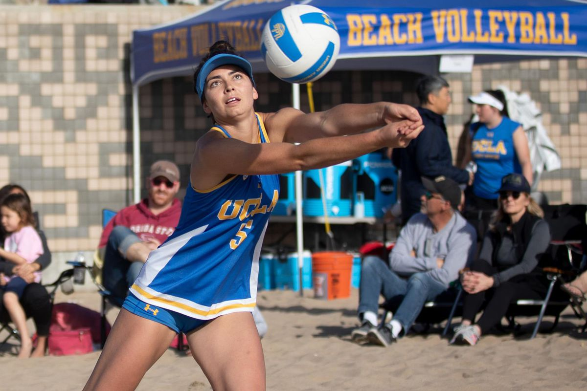 Ucla Beach Vb Makes Quick Work Of Lsu To Advance To Championship Bruins Nation