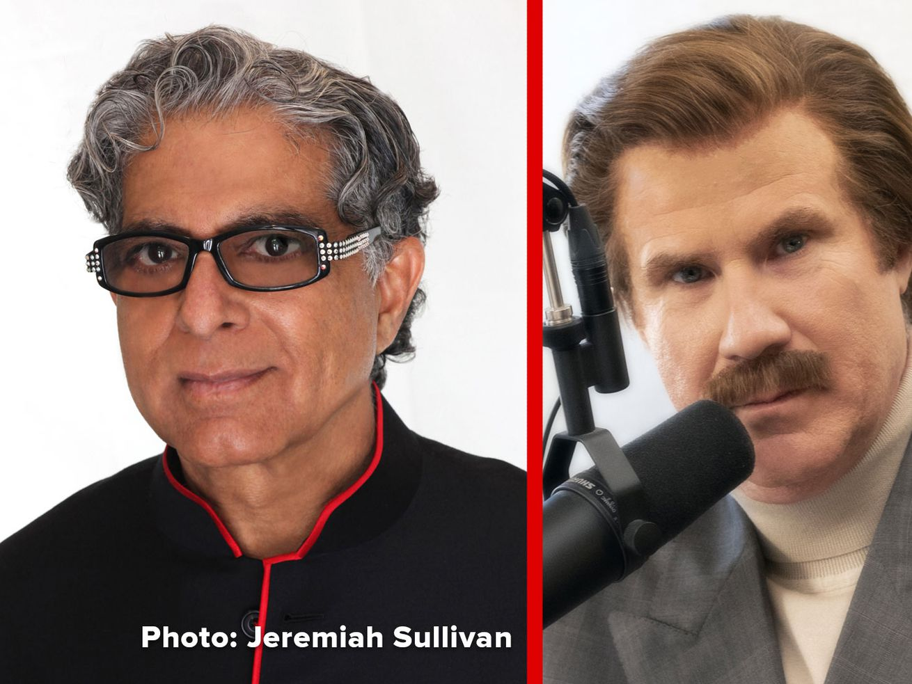 Ron Burgundy Asks Deepak Chopra Life's Biggest Questions in The Ron Burgundy Podcast Episode 2