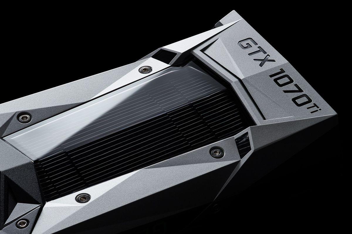 Nvidia GTX 1070 Ti product shot