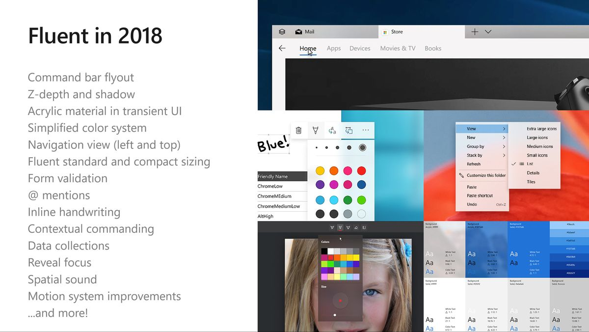 Microsoft Reveals The Future Of Its Fluent Design For Windows 10 The Verge