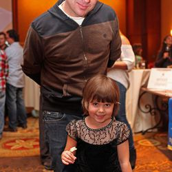 Kelly Whitaker of Basta with his daughter