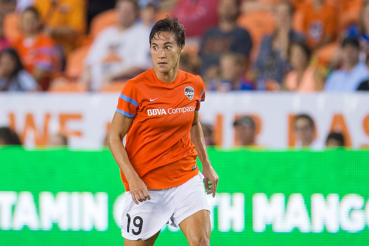 Niki Cross played her final game on Saturday before retiring from pro-soccer.