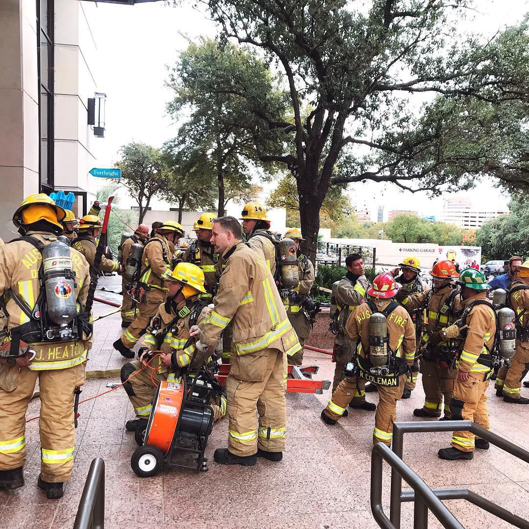Forthright Cafe's fire scare