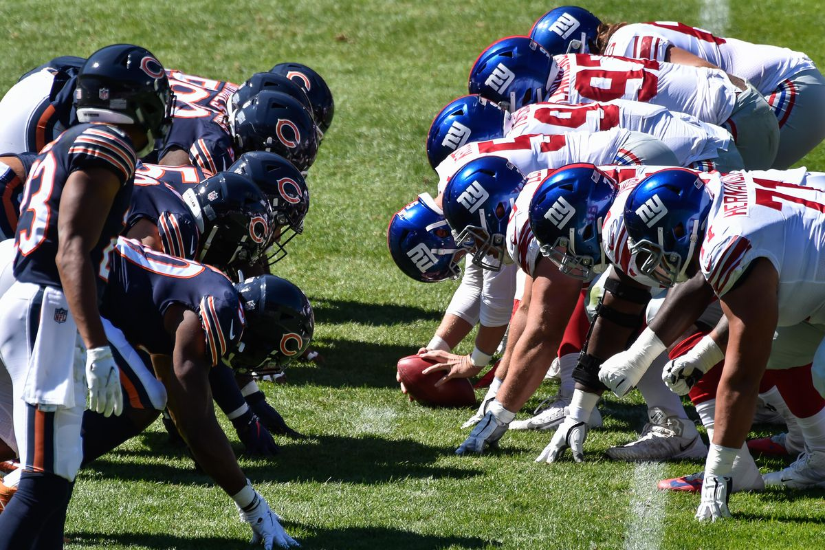 Giants Bears Game Time Tv Schedule Odds Streaming Announcers Radio Live Updates More Big Blue View