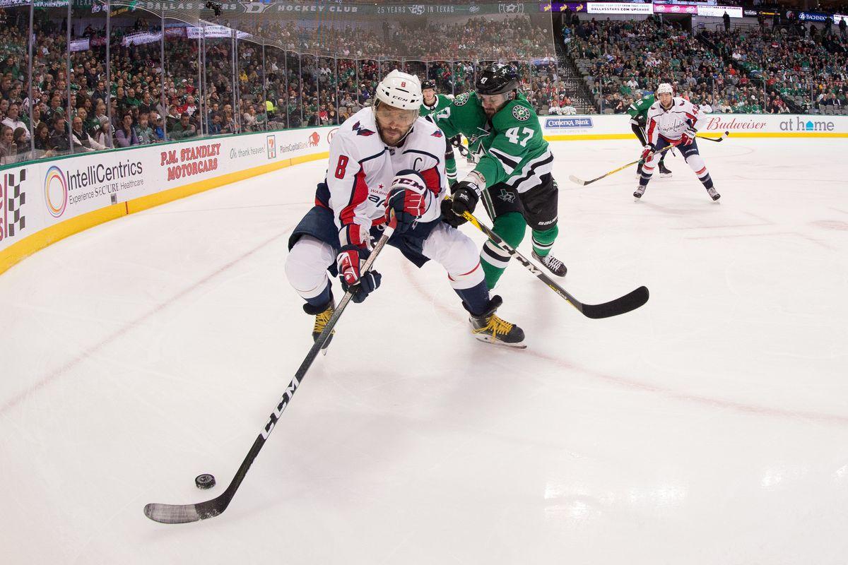 NHL: Washington Capitals at Dallas Stars