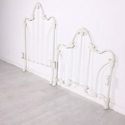 """<a href=""""https://www.moveloot.com/shop/beds/headboards/35761-shabby-chic-twin-headboard-and-footboard"""">Shabby Chic Twin Headboard and Footboard</a>"""