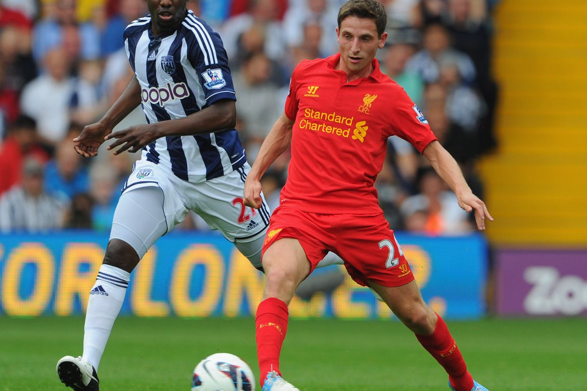 Joe Allen's going to have to be the man in Liverpool's holding role for a while.