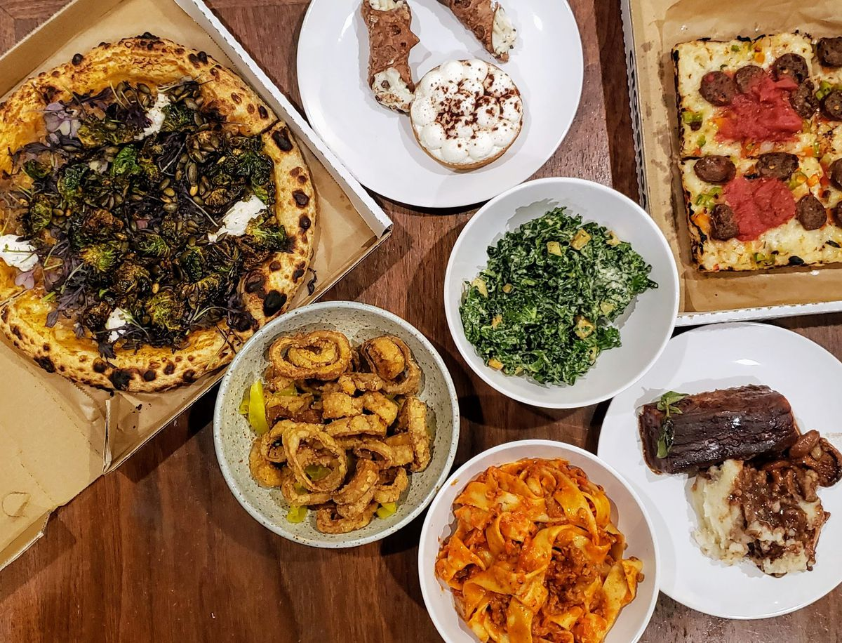 For a plant-based feast: Crossroads Kitchen