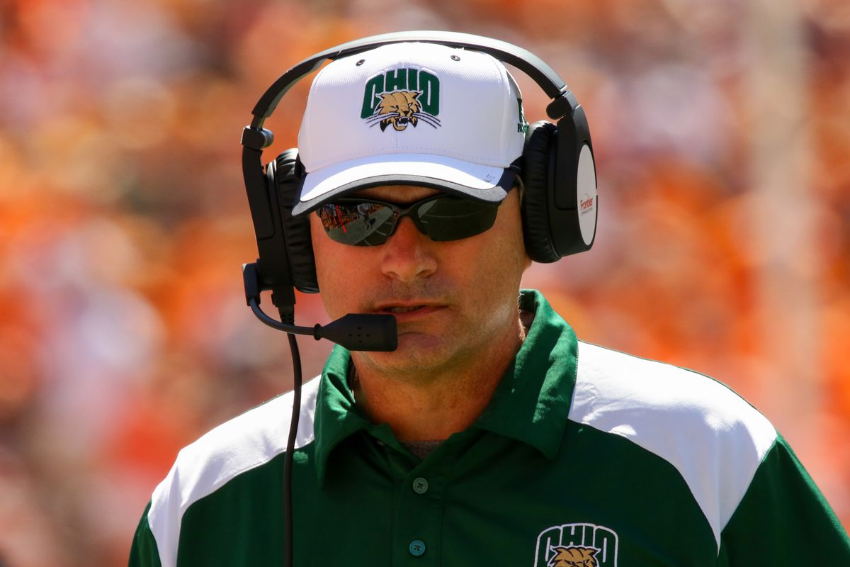 NCAA Football: Ohio coach Frank Solich
