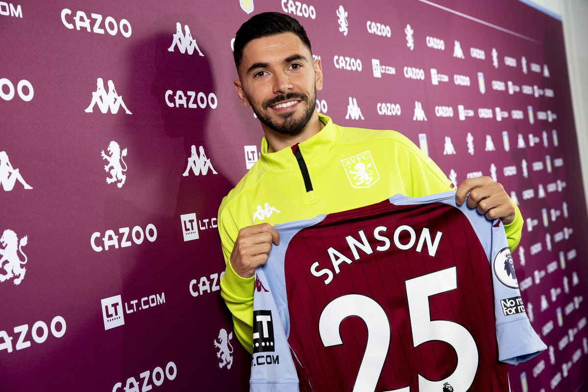 Aston Villa Unveil New Signing Morgan Sanson