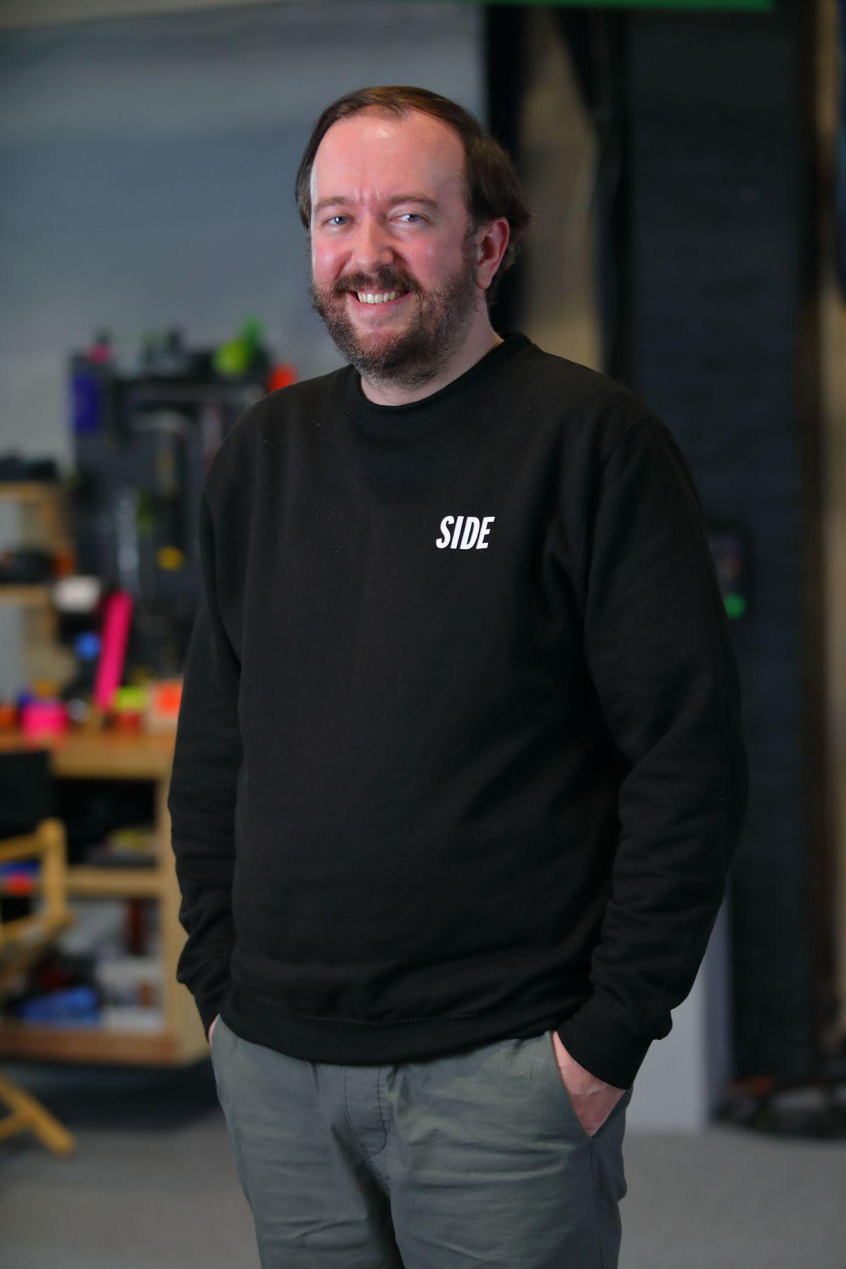SIDE UK casting director Martin Vaughan